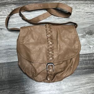 Brown crossbody from forever 21